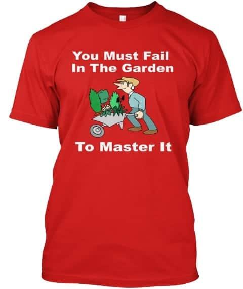 fail in the garden tee