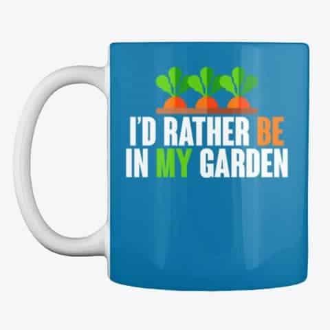 be in the garden mug