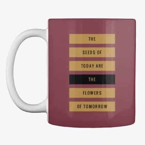 flowers of tomorrow mug