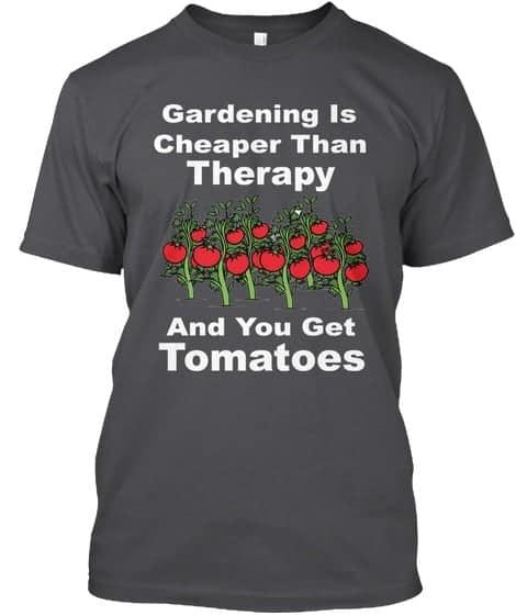 gardening cheaper than tomatoes tee