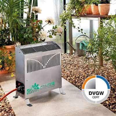 gas powered heater