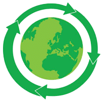 Picture of recycle world icon