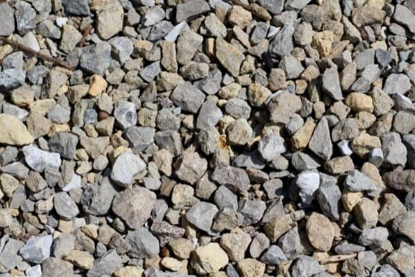 Picture of rocks and pebbles flooring