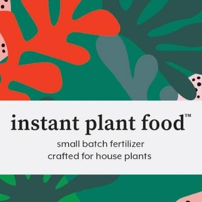 A picture of merchandise - instant plant food