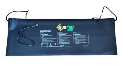 A picture of the Sun Pad Pro seeling heater