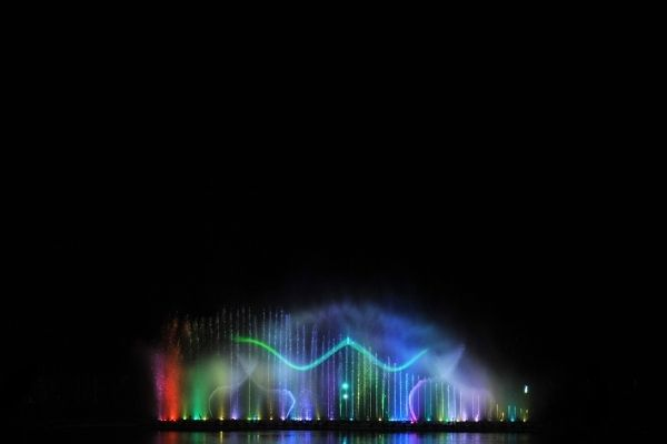 picture of dancing fountains