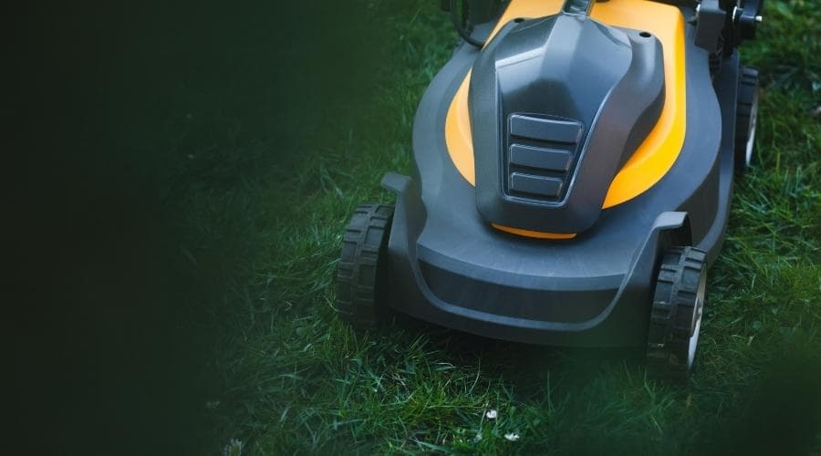 electric mower header image