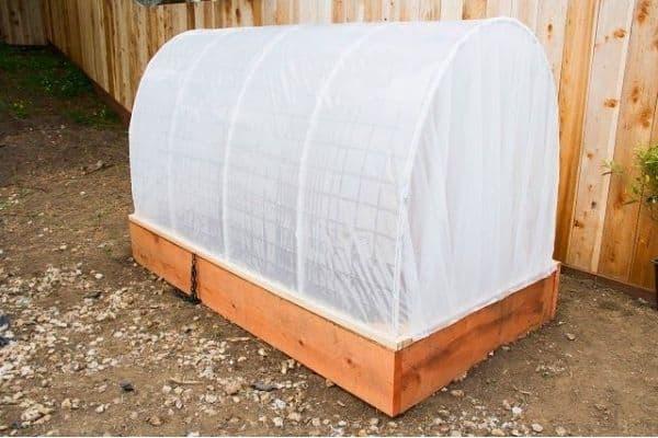 Picture of greenhouse planter box