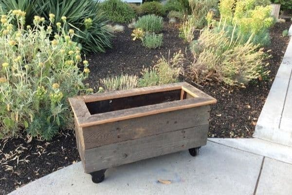 Picture of rolling planter box
