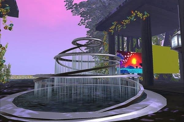 picture of spiral fountain